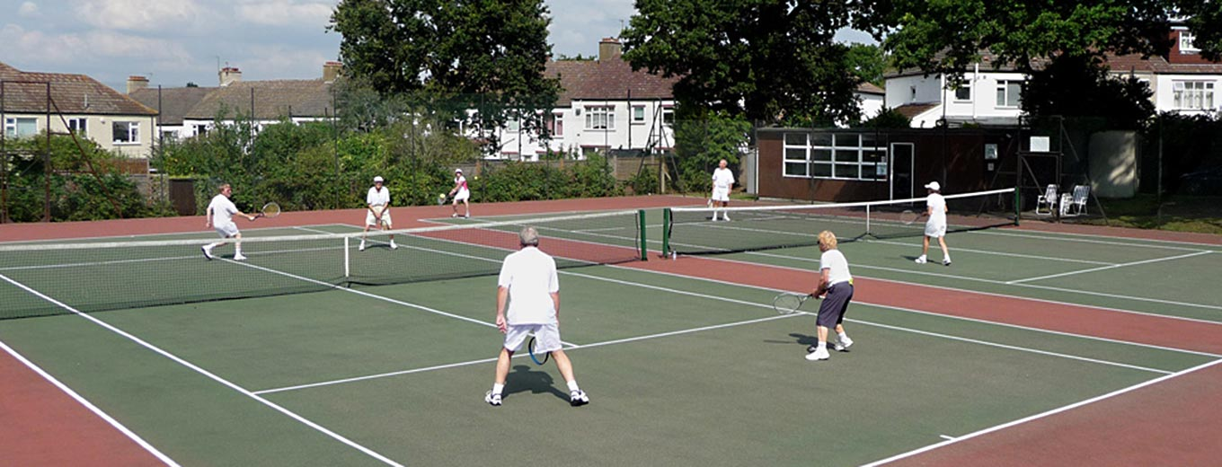 Shirley Tennis Club courts