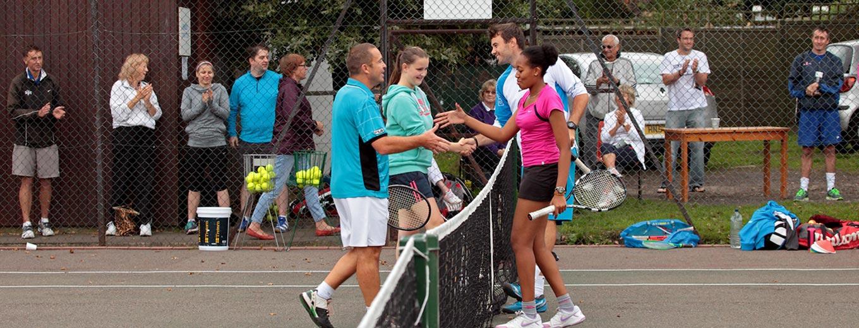 Shirley Tennis Club tournament